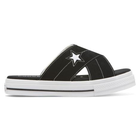 PANTOFLE CONVERSE One Star Sandal WMS - černá