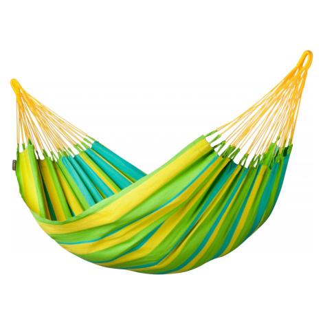 Houpací síť La Siesta Sonrisa Single Barva: žlutá/zelená
