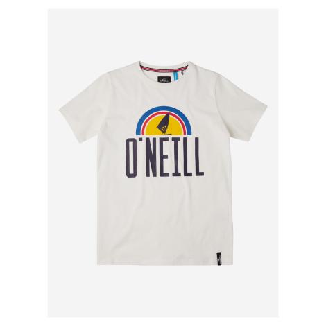 Logo Triko dětské O'Neill Bílá