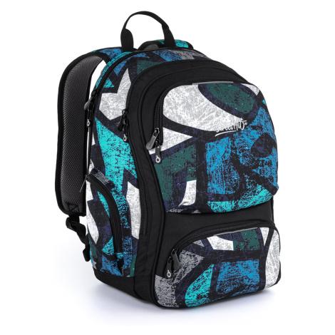 Studentský batoh se vzory Topgal ROTH 21036 B