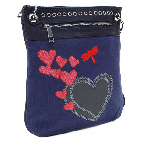 Modrá dámská crossbody kabelka Ariel Tapple