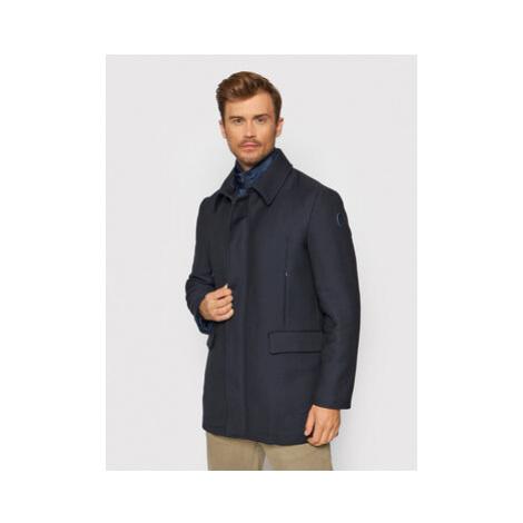 Vlněný kabát Trussardi