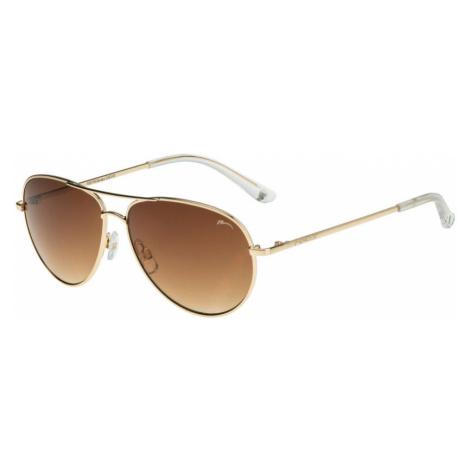 RELAX Decatur Dětské sluneční brýle R3077B zlatá 20L
