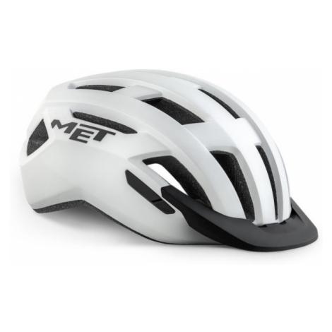Cyklistická helma MET Allroad bílá matná