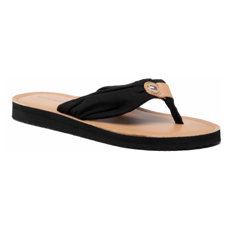 TOMMY HILFIGER Leather Footbed Beach Sandal FW0FW00475