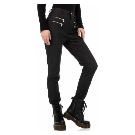 Dámské koženkové kalhoty