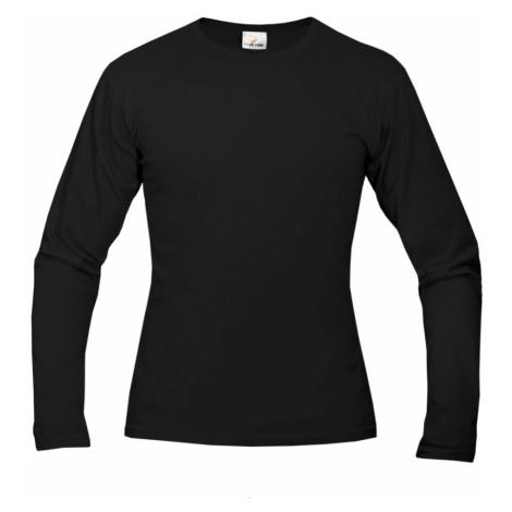 Tričko pánské AF long dlouhé - Černé