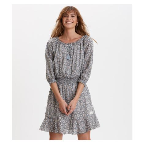 Šaty Odd Molly Stayin Free Dress - Modrá