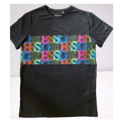 Pánské triko GUESS U0BM02 | černá