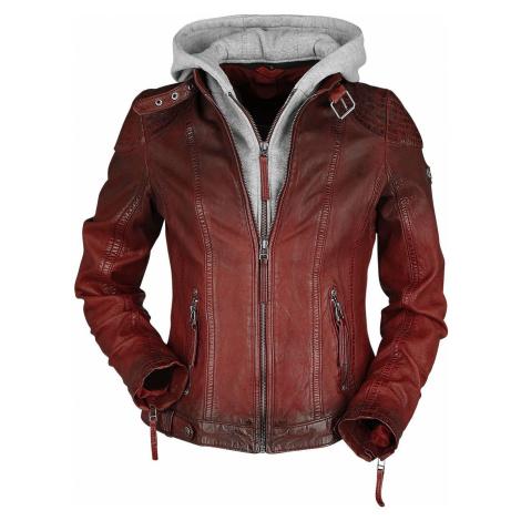 Gipsy Cascha LAMOV Dámská kožená bunda červená
