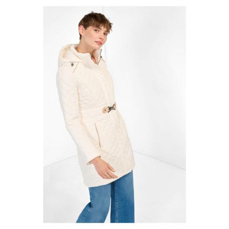 Prošívaný kabát s kapucí Orsay