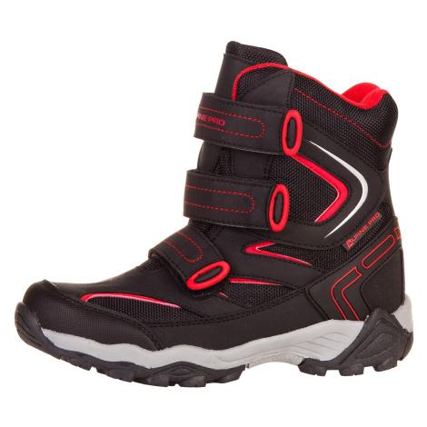 Dětská zimní obuv Alpine Pro DAIRO - černá
