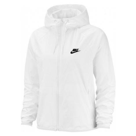 Nike NSW WR JKT bílá - Dámská bunda