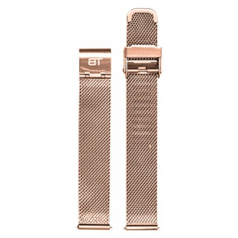 Bentime Kovový mesh s easy clickem - růžově zlatý 16 mm