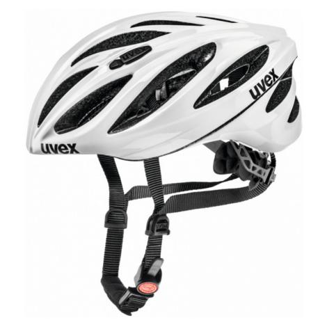 Cyklistická helma Uvex Boss Race white