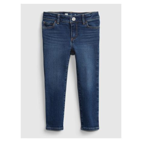 GAP modré dětské džíny skinny dk