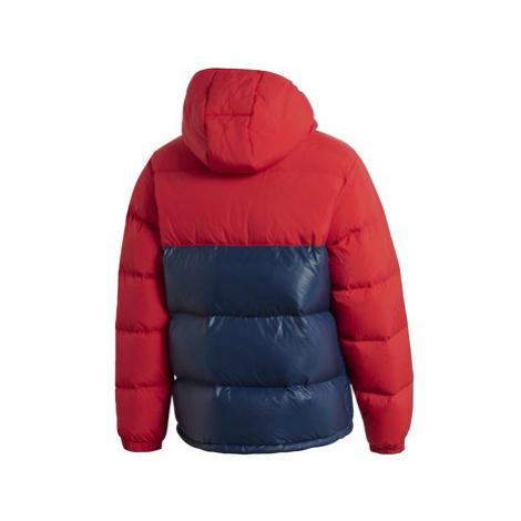 Adidas Bunda Down Regen Hooded Blocked Puffer Červená