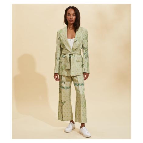 Kalhoty Odd Molly Isabella Pants - Zelená