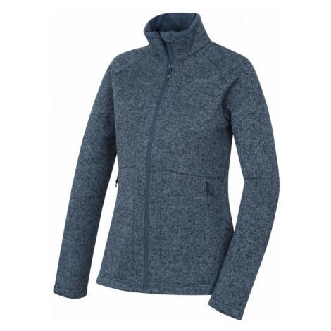 Dámský fleecový svetr HUSKY Alan tmavě šedomodrá