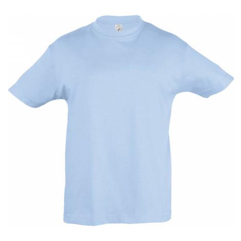 SOLS Dětské triko s krátkým rukávem REGENT KIDS 11970220 Sky blue SOL'S