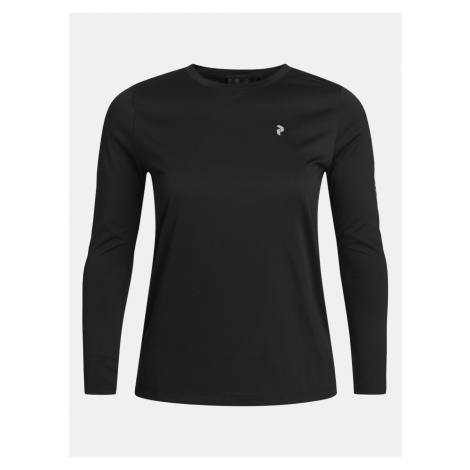 Tričko Peak Performance W Alum Light Long Sleeve - Černá