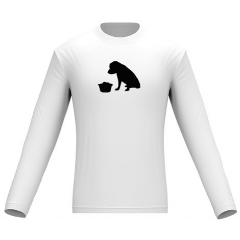 Pánské tričko dlouhý rukáv Pes - Umbi