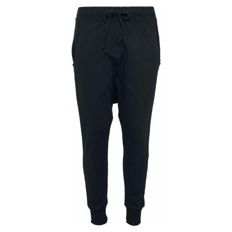 Urban Classics Dámské flisové kalhoty Cargo kalhoty černá
