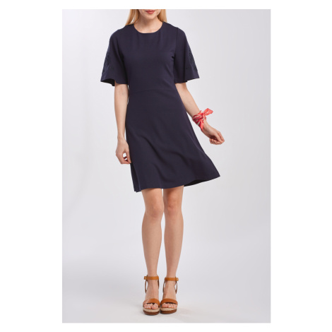 ŠATY GANT D2. MEADOW HOLESEAM JERSEY DRESS