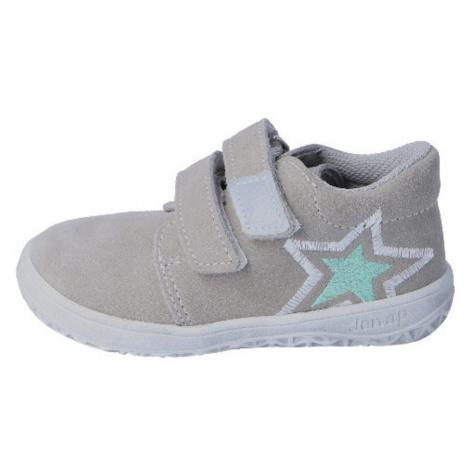 dětská celoroční barefoot obuv B1/S/V - hvězda šedá, jonap, šedá