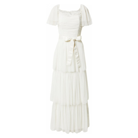 Maya Deluxe Společenské šaty krémová