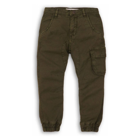 Kalhoty chlapecké kapsové, Minoti, YAY 7, zelená