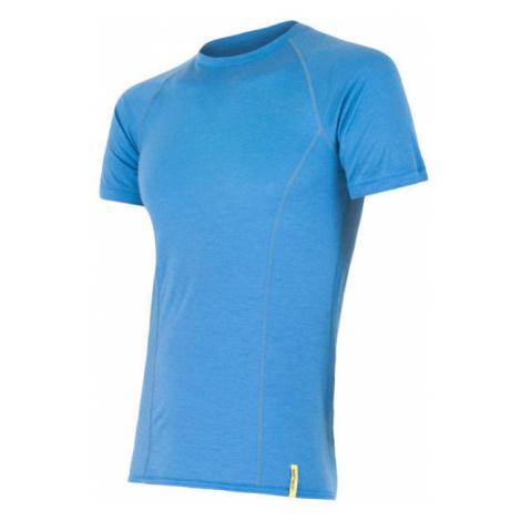 Pánské tričko SENSOR Merino Active modrá