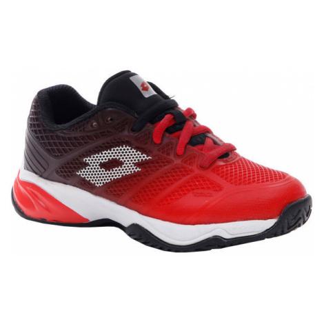 Lotto MIRAGE 300 II ALR JR červená - Juniorská tenisová obuv