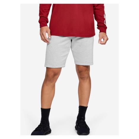 Kraťasy Under Armour Speckled Fleece Shorts Bílá