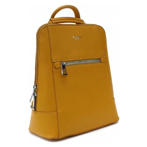 Žlutý městský dámský batoh Maritza Mahel