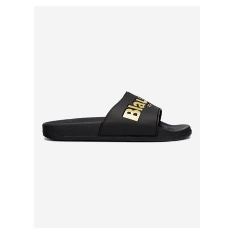 Pantofle Blauer Černá