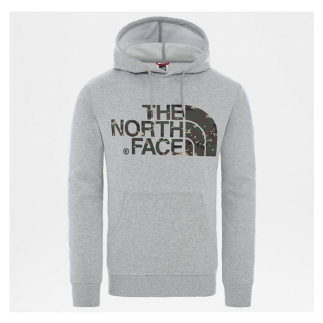 MIKINA THE NORTH FACE STANDARD HOODIE - šedá