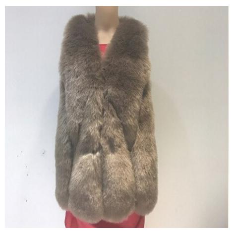 Dámská kožešinová vesta umělý kožich bez rukávů plyšová vesta