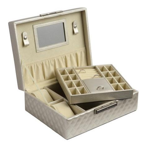 JK BOX SP-570/A20, Dámská šperkovnice krémová JKbox