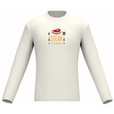 Pánské tričko dlouhý rukáv Steak master