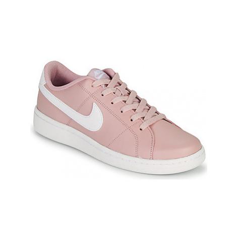 Nike COURT ROYALE 2 Růžová