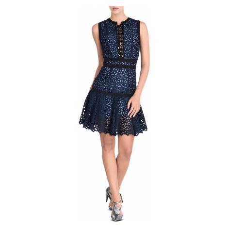 Modré krakové šaty JUST CAVALLI