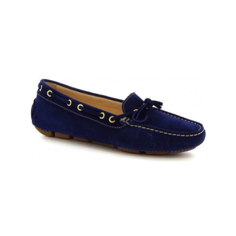 Leonardo Shoes 7502 SOFTY BLUETTE Modrá