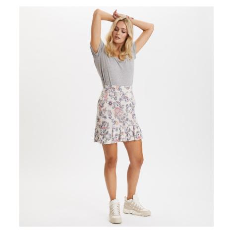 Sukně Odd Molly Blossom Skirt - Bílá