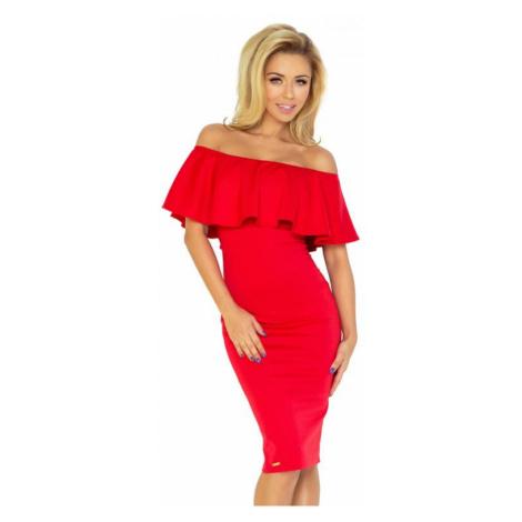 Dámské šaty Numoco 138-2 | červená