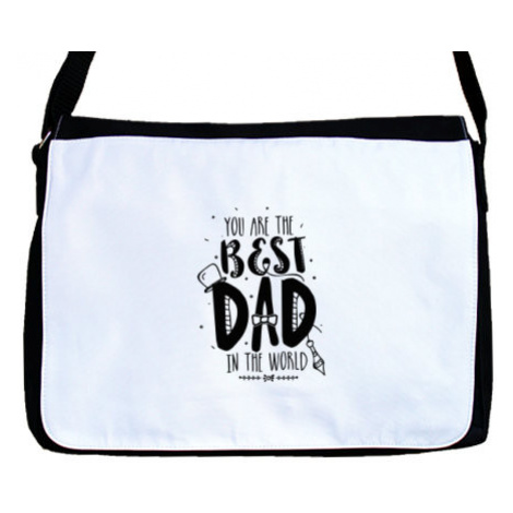 Taška přes rameno The best dad in the world