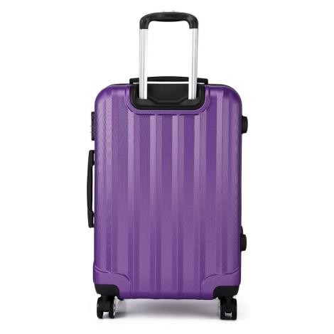Fialový cestovní kvalitní velký kufr Corbin Lulu Bags