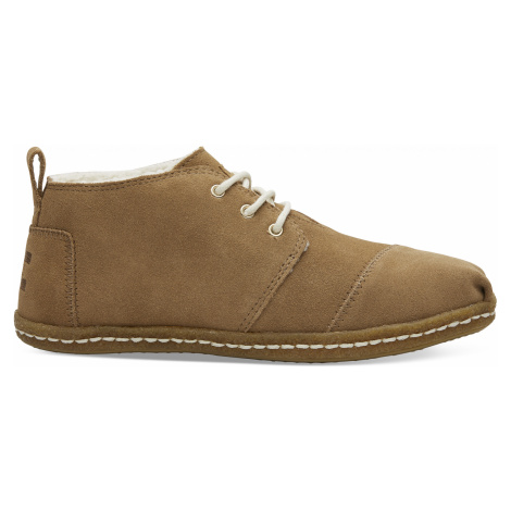 Toffee Suede Bota Women Boot Toms