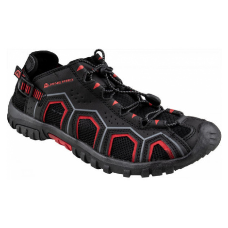 ALPINE PRO DORAM černá - Pánská letní obuv