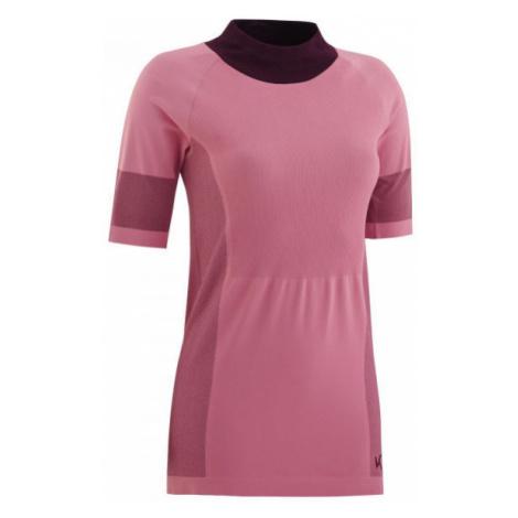 KARI TRAA SOFIE TEE růžová - Dámské funkční triko